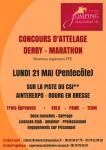 affiche derby marathon